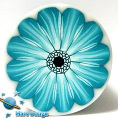 Turquoise gerbera cane | Flickr - Photo Sharing!