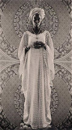 Art: Barron Claiborne Portrait Begay Downes-Thomas from the series Goddess Dark And Twisted, Afro Punk, Black Artists, Art Direction, Vintage Fashion, Feminine, Statue, Boho, Namaste
