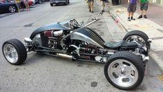 Car motorcycle cross