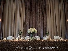 head table - Gatineau Golf styled shoot - photography by Annemarie Gruden Golf Fashion, Fashion Company, Wedding Events, Weddings, Table, Commercial, Photography, Home Decor, Photograph