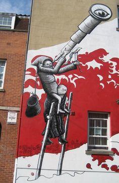 phlegm in Bristol Art For Change, Art Manifesto, Sheffield Art, Graffiti, Sources Of Iron, Art Uk, Weird Art, Guerrilla, Derbyshire