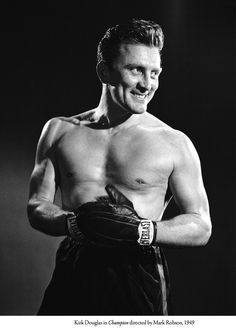 Kirk Douglas in Champions, 1949.......Uploaded By  www.1stand2ndtimearound.etsy.com