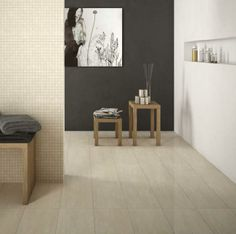 Ivory Polished and mosaic Floor Mats, Tile Floor, Tile Layout, Tile Projects, Bathroom Interior Design, Porcelain Tile, Renaissance, Tiles, Ivory
