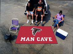 "MY TEAM MATS - NFL - Atlanta Falcons Man Cave UltiMat  59.5""x94.5"", $119.99 (http://www.myteammats.com/nfl-atlanta-falcons-man-cave-ultimat-59-5x94-5/)"