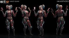 ArtStation - Injustice 2 - Harley Quinn, Solomon Gaitan