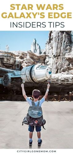 These are the insider tips and tricks you'll want to follow so you don't miss any of the magic at Disneyland's new Star Wars: Galaxy's Edge. Check out this guide to the whole Disney experience in California including rides, attractions, best food to try and the whole inside scoop #DisneyFamilyTravel #DisneyVacation #disneyland #starwarsgalaxysedge #disneylandtips #milleniumfalcon