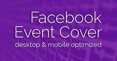 What's the Correct Facebook Event Image Size? From May 2017: The correct Facebook event cover photo size is 1920 x 1080 pixels. This is a 16:9 ratio. Photos uploaded at less than 1920 pixels wide will be enlarged to fit.
