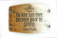"""No One Has Ever..."" - Silver - Large Sentiments S074S 