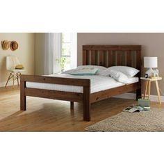 Buy Chile Kingsize Bed Frame - Dark Stain at Argos.co.uk, visit Argos.co.uk to shop online for Bed frames
