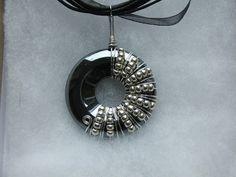 Wire wrapped donut pendant necklaces | Flickr: partage de photos!