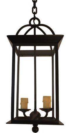 Farol Colonial En Hierro Forjado - - Super Oferta - - - $ 2.769,00
