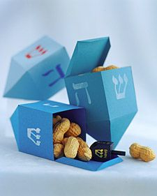 How to make a paper dreidel box.