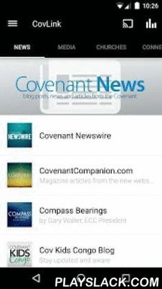 "Evangelical Covenant Church  Android App - playslack.com ,  NOTICE: If you use an alternative web browser, to ensure all Vimeo videos play correctly, make sure the ""user agent"" in the browser's settings stays on ""Android"" not ""desktop.""CovLink Android App allows you to have on-demand access to the latest and best Covenant content directly from your Android-enabled smartphone.Features:- Read relevant Covenant news stories wherever you are!- Use the church map tool and get info on any Covenant…"
