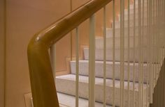 J & M Davidson – 104 Mount Street | Retail | Guildprime | Leather handrail