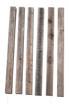 x Reclaimed Peel and Stick Solid Wood Wall Paneling in Gray Reclaimed Barn Wood, Weathered Wood, Rustic Wood, Rustic Farmhouse, Stick On Wood Wall, Peel And Stick Wood, Wood Plank Walls, Wood Planks, Interior Wood Paneling