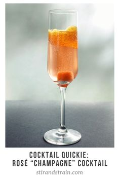 A hibiscus-soaked sugar cube makes an extra-special Champagne cocktail on your extra-special night. Rose Champagne, Champagne Cocktail, Signature Cocktail, Cocktail Drinks, Cocktail Recipes, Brunch Drinks, Bar Drinks, Beverages, Bourbon Drinks
