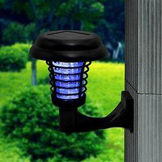 Mosquito Killer Lamps Ground Stainless Steel Mosquito Killer Lamp Energy Saving Outdoor Garden Durable Repellent Bug Solar Led Uv Pathway Waterproof Lights & Lighting