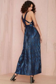 Nasty Gal Ring My Bell Cutout Dress - Going Out | Midi + Maxi | Dresses | Sequins + Metallics | All | NYE | Dresses | All | Clothes