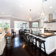 Incroyable Open Concept Living Room Kitchen Design, Pictures, Remodel, Decor And Ideas    Page 13 By Tracey Stiel | Kitchens | Pinterest | Open Concept, Living  Room ...