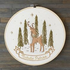 We are on our way up to Maine to go close on our new camp  This #customembroidery from March seems appropriate to repost ✨…