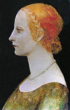 Bianca Maria Visconti 31 March 1425 28 October 1468 was Duchess of Milan from 1450 to 1468 Matrimonio francesco sorza e bianca maria visconti cremona 19 Italian Renaissance Art, Renaissance Paintings, 15th Century Fashion, Maria Bianca, Milan, Italian Art, Historian, Portrait, Old Things