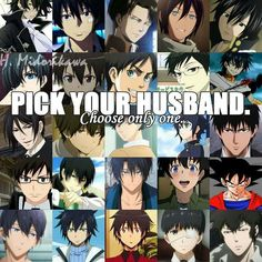 Either Sebastian or Yuuicherou or Eren or Levi. Hard decision tbh.