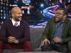 Key and Peele Fly Through Their History With Arsenio