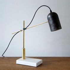 The Catherine table lamp—by design studio Castor
