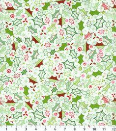 Holiday Inspirations Fabric-Heidi Grace Holly Toss : holiday fabric : fabric :  Shop | Joann.com