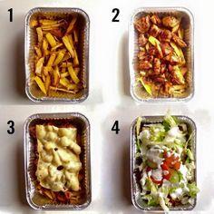 Verantwoorde Kapsalon recept Pureed Food Recipes, Cooking Recipes, Healthy Recipes, Healthy Food, Healthy Diners, Weird Food, Easy Cooking, Food Inspiration, Love Food