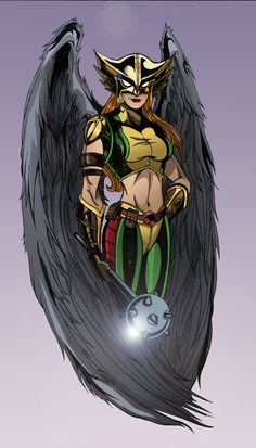 Hawkgirl by ~TimelessUnknown on deviantART