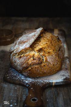 Tostadas, Bread, Food, Spelt Flour, Cooking Recipes, Sunflower Seeds, Oven, Brot, Essen