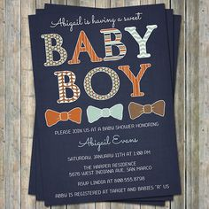 Hey, I found this really awesome Etsy listing at https://www.etsy.com/listing/190740257/baby-boy-baby-shower-invitations-with