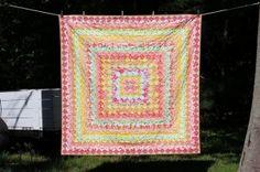 trip around the world quilt by priscilla