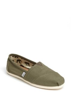 TOMS 'Classic' Canvas Slip-On (Women) available at #Nordstrom