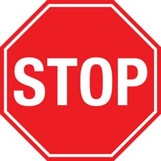Printable Stop Sign- stick on foam cut out and glue on ...