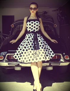 Pin Up Dress.