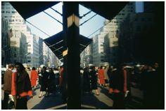 Photo by Ernst Haas -- Manhattan, NYC, 1953