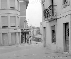 Avenida Basagoiti esquina con la Plaza Tellagorri (Colección Eugenio Gandiaga) (ref. SC1317)