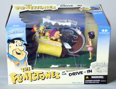 "McFarlane Toys 6"" Hanna Barbera Series 2 Box Set - The Flintstones at the Drive-In McFarlane Toys."