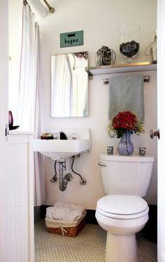 Cozy Bathroom, Bathroom Renos, White Bathroom, Bathroom Ideas, Apartment Plans, Apartment Design, Studio Apartment, Hawaii Apartment, Bad