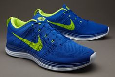 info for dde42 0e132 Nike Flyknit One+ - Royal Volt Blue Tint size uk 8 Nike Flyknit