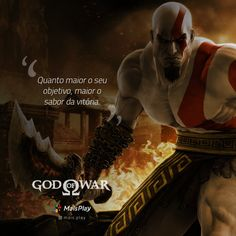 9 frases impressionantes e inesquecíveis de Kratos de God of War Kratos God Of War, God Of War Game, God Is For Me, My Past, Sad Girl, Nerd, Illustrations And Posters, Feeling Happy, League Of Legends