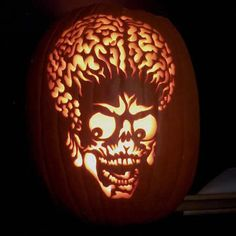 20 Most Awesome Pumpkin Carvings - Oddee.com (pumpkin carvings, scary pumpkin…