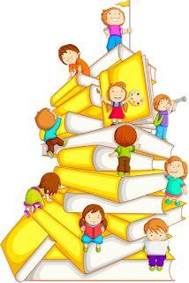 Illustration about Vector illustration of kids climbing in stack of book. Illustration of concept, innocence, preschool - 26347112