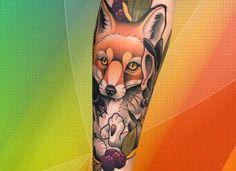 #tatuajes #neotradicionales de animales Tattoos, Animales, Tatuajes, Tattoo, Tattos, Tattoo Designs
