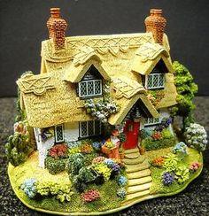 Lilliput-Lane-The-Flower-Barrow-The-British-Collection-2003-NIB-Deeds-L2644