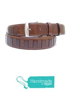 "Brown Adjustable Leather Belt 123 cm (48.43"") BLT830 from Nazo Design… #handmadeatamazon #nazodesign"