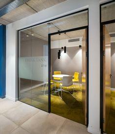 Harrison Spinks Headquarters and Showroom - Leeds - Office Snapshots Office Open Plan, Open Concept Office, Office Floor Plan, Small Office, Corporate Office Decor, Modern Office Decor, Corporate Interiors, Office Interiors, Corporate Offices