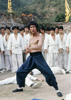 Bruce Lee - combat style!